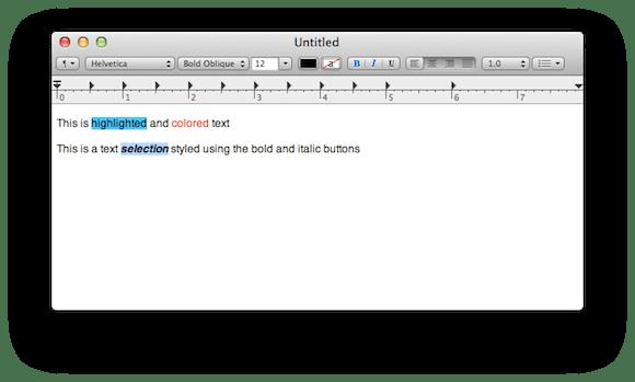 LionTE0 Mac OS X Lion ha un nuovo TextEdit: supporto alla scrittura verticale e nuova barra degli strumenti