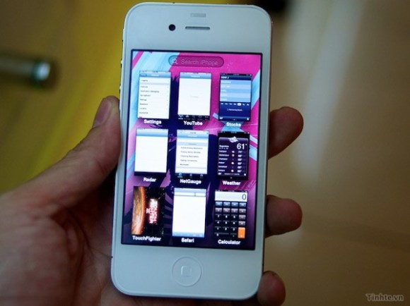 iphonewhite 580x434 Avvistato prototipo di iPhone 4 bianco