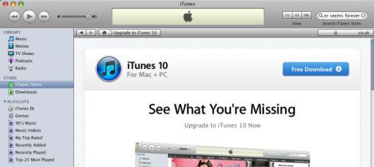 itunes10ong3imac Apple impedisce laccesso alliTunes Store a chi utilizza iTunes 9