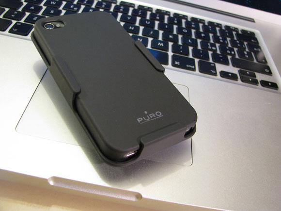 005 Puro, custodia multiuso 3 in 1 per iPhone 4