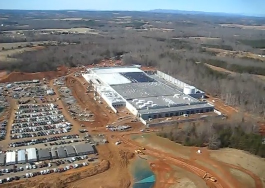 apple NC datacenter 2 530x376 Apple starebbe ospitando i software di Nuance nei data center del Nord Carolina