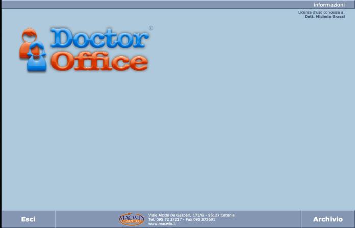 image005 DoctorOffice: la storia di un software per tutti i medici