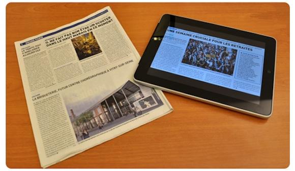 miratech 1 Giornale o iPad? Sulla concentrazione vincerebbe il giornale