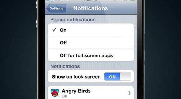notifications settings 580x316 Un concept mostra come potrebbero essere le notifiche push in iOS 5