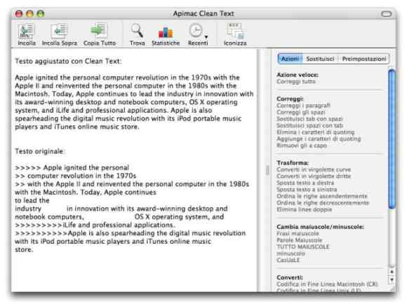 2ic1rti 580x437 Clean Text: Applicazione semplice ma molto utile per lavorare e ripulire il testo