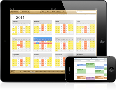 calendar WWDC: Scopriamo tutte le novità del nuovo iOS 5