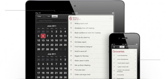 features reminders listviews 580x278 WWDC: Scopriamo tutte le novità del nuovo iOS 5