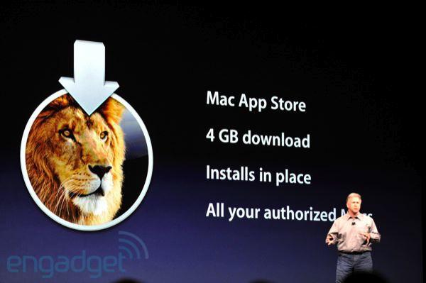 stevejobswwdc2011liveblogkeynote0546 WWDC: Mac OS X Lion, 250 nuove caratteristiche