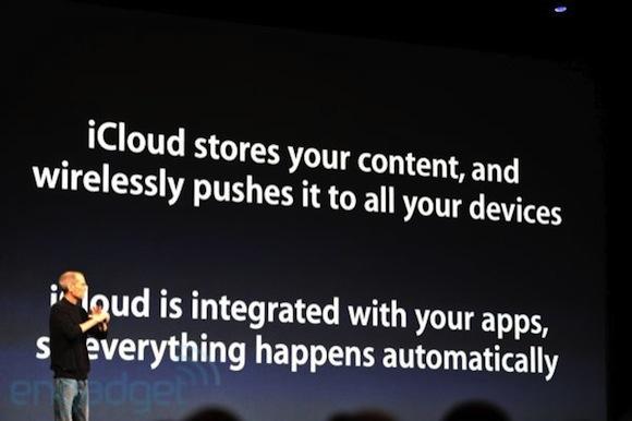 stevejobswwdc2011liveblogkeynote0879 WWDC: iCloud, PC e Mac diventano dispositivi, tutti i contenuti sono in remoto