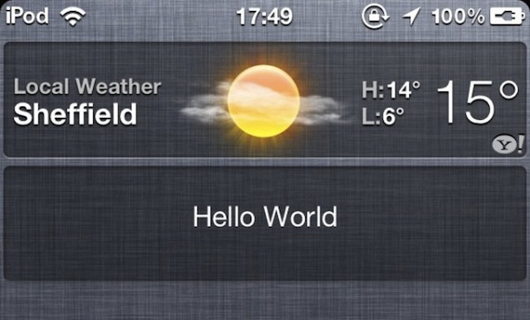 widget iOS 5: Widget sì o Widget no?