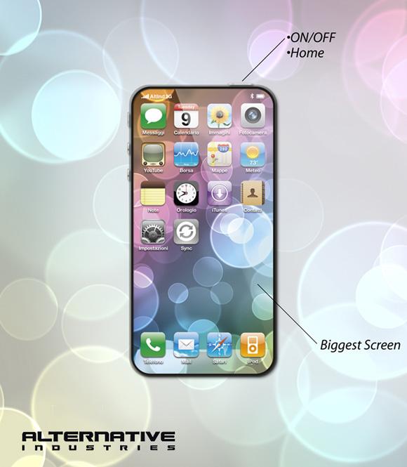 2iphone5conceptbyalternativ Un altro concept per liPhone 5