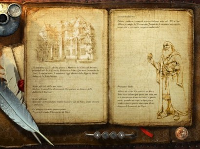 IMG 0063 Secrets of Da Vinci: Il Manoscritto Proibito, gioco per iPad
