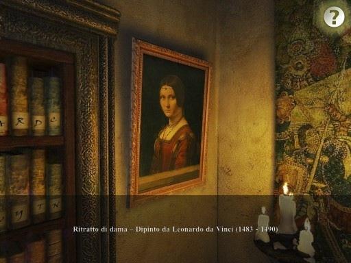 IMG 0069 Secrets of Da Vinci: Il Manoscritto Proibito, gioco per iPad