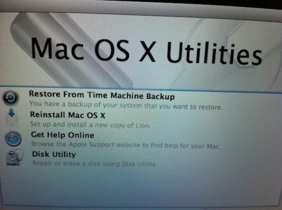 LionRecovery2 580x433 Mac OS X Lion genera in automatico una partizione di ripristino