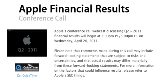 Screen shot 2011 03 30 at 12.36.35 AM 580x285 Risultati del Trimestre fiscale di Apple