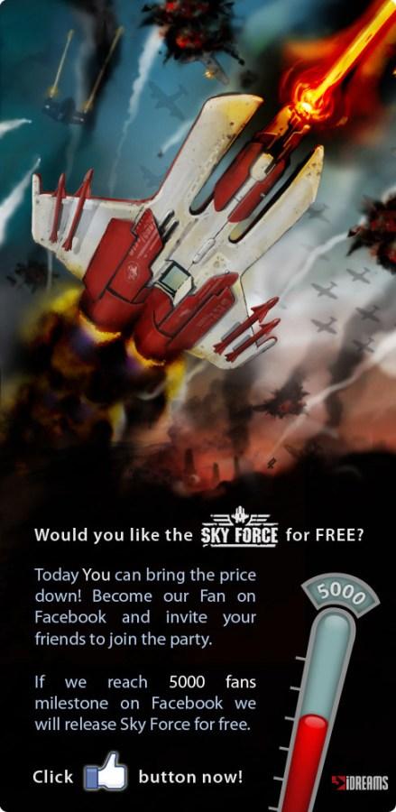 app full proxy.php  439x900 Download gratuito per il gioco Sky Force