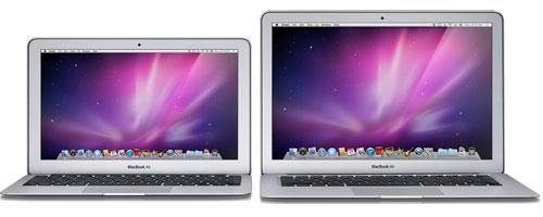 macbook air1 Ecco le configurazioni dei nuovi MacBook Air, dei nuovi Mac Mini e Mac Mini Server