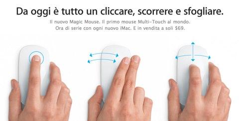 Magic Mouse In arrivo un nuovo Magic Mouse da Apple?