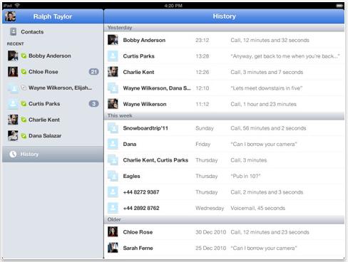 Schermata 08 2455791 alle 19.41.37 Aggiornamento di Skype per iPad