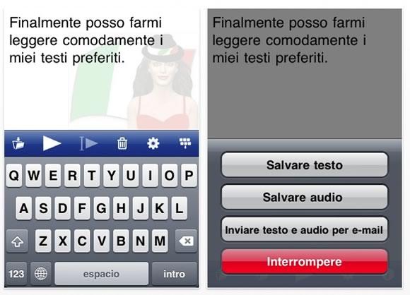 Voice reader2 Recensione: Voice Reader per iOS, lapp che legge i nostri testi