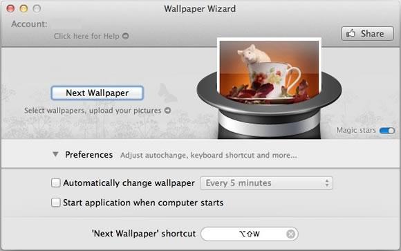 WW 1 Recensione: Wallpaper Wizard un cappello magico per gli sfondi sul nostro Mac