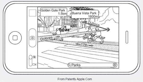 ar map cjr Un nuovo brevetto Apple per app Maps e Compass?
