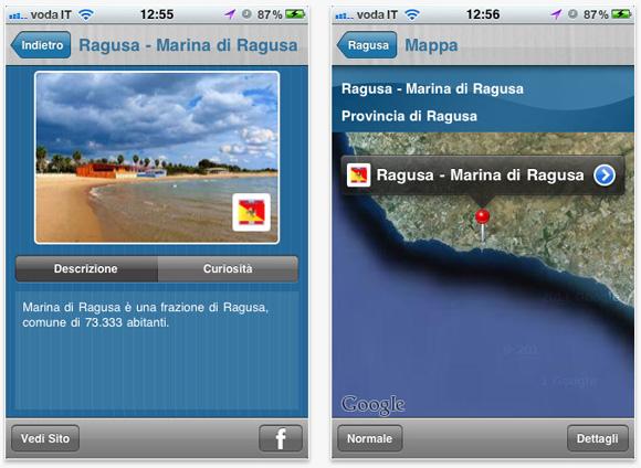 isea iSea: Al Mare, lo stato di balneazione dei mari italiani su iPhone
