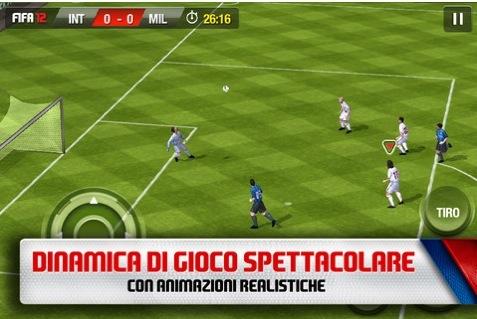 CapturFiles 25 EA Sports rilascia FIFA 2012 nellApp Store