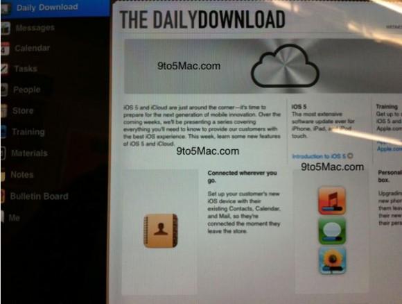 Cattura 580x438 Gli Apple Store iniziano a ricevere documenti su iOS 5 e iCloud per la formazione dei dipendenti, si prevede un lancio imminente