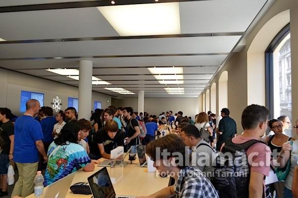 Primo piano 580x386 Il reportage di Italiamac dallApple Store di Bologna