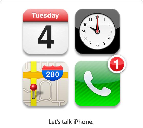 apple october 4 invite1 Questa volta è ufficiale: il keynote si terrà il 4 ottobre a Cupertino