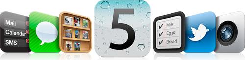 ios5 Il rilascio di iOS 5 GM avverrà probabilmente il 23 settembre