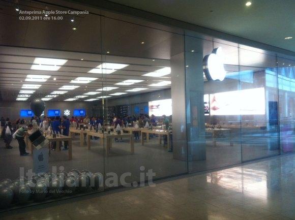 italiamac applestorecampani 580x433 Anteprima Video: LApple Store Campania poche ore prima dellinaugurazione