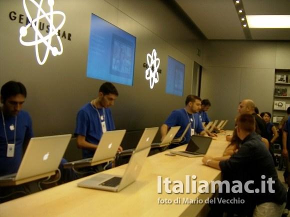 italiamac applestorecampania 18 580x435 Inaugurazione Apple Store Campania, il reportage di Italiamac e la galleria fotografica *Aggiornato