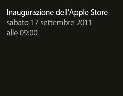 photo viarizzoli LApple Store Bologna apre il 17 settembre *aggiornato