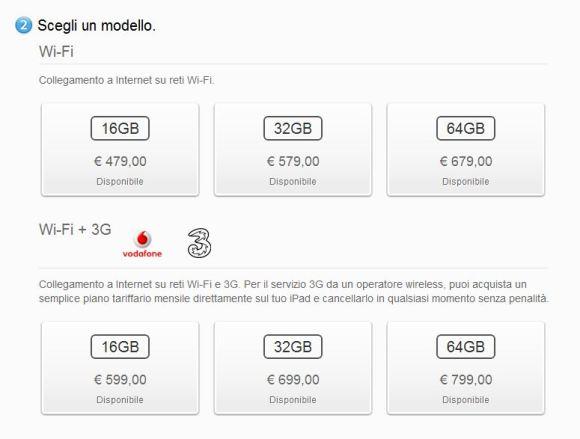 scegli modello ipAd 2 580x439