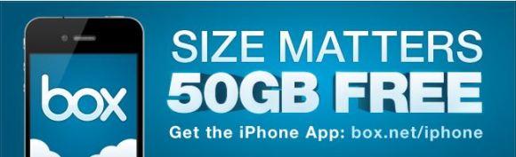 Box.net  580x177 50GB di spazio web gratuito offerti da Box.net per gli utenti iOS