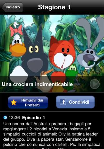 Cuccioli.TV screeshot sinossi I cartoni animati della serie Cuccioli su iPhone, iPod touch e iPad con Cuccioli.TV