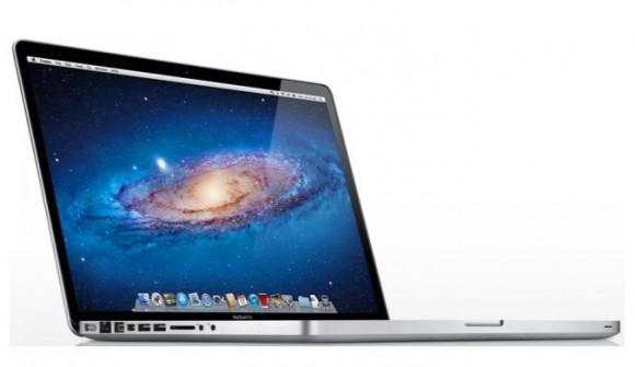 MacBook Pro 580x335 La nuova linea di MacBook Pro avrà processori più veloci e hard disk più capienti