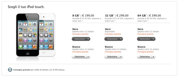 Schermata 10 2455839 alle 21.44.30 580x251 Apple presenta i nuovi modelli di iPod