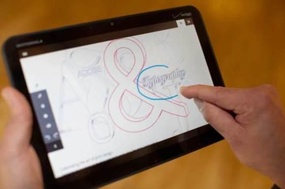adobe debut 580x386 Adobe presto lancerà sei nuove applicazioni dedicate ai tablet