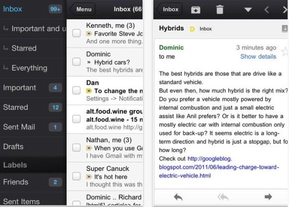 Schermata 11 2455882 alle 20.16.30 580x415 Lapplicazione ufficiale di Gmail è nuovamente disponibile nellApp Store