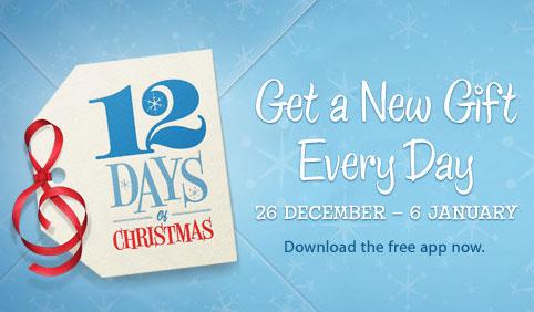 12days 12 giorni di regali: anche questanno Apple trasforma il nostro iDevice in un mini albero di Natale