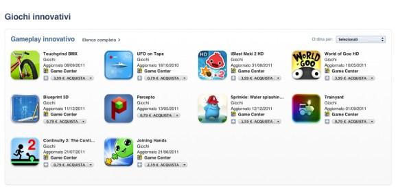 Schermata 12 2455914 alle 10.57.45 580x278 Giochi Innovativi: nuova sezione in App Store dedicata ai giochi più creativi