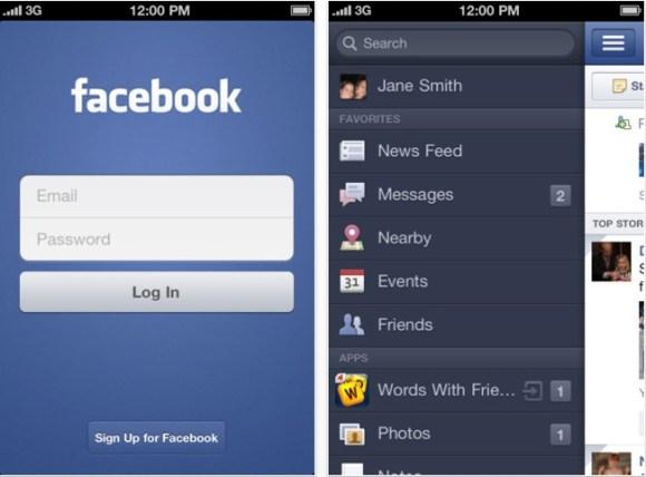 Schermata 12 2455914 alle 20.40.01 580x428 Nuovo aggiornamento di Facebook per iOS che introduce la visualizzazione in formato Diario