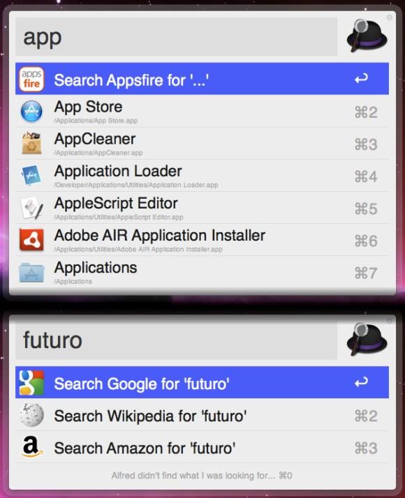 alfred app 2 580x714 Alfred, il maggiordomo per il nostro Mac.