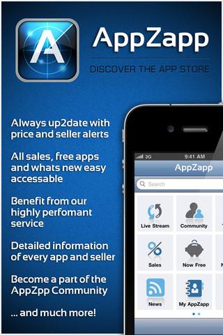 appzap La nota app AppZapp, è gratuita per alcuni giorni