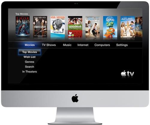 imac apple tv iMac: la prossima generazione funzionerà anche come TV?