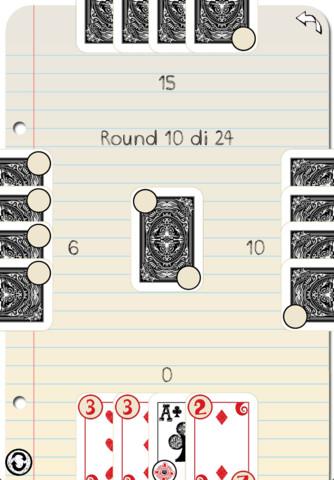 itap1 Il gioco di carte Tappo sulliPhone con iTappo