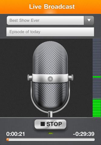 spr2 Spreaker Radio 2.0, trasmetti in diretta dal tuo iPhone